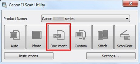 IJ Scan Utility Canon Mp230 Descargar
